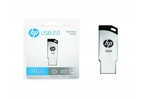 Memoria USB HP 16GB - V236W METAL
