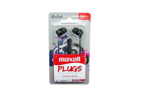 AUDIFONOS MAXELL PLUGS - IN-225