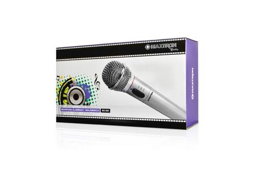Microfono Maxtron Alambrico - Inalambrico MX600