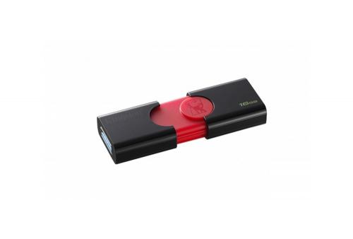 MEMORIA USB 16GB DT106 KINGSTON ROJO