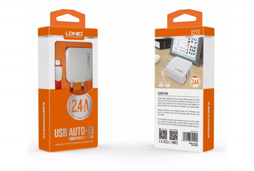 Cargador LDnio A2201 Para Iphone - Apple