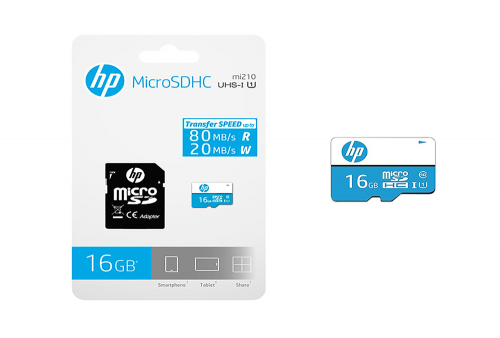 Memoria Micro SDHC - HP 16GB