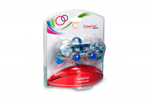 Mando Cybertel Fighter - Transparente