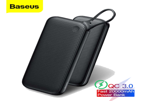 CARGADOR PORTÁTIL BASEUS PowerFul QC3  20000mAh