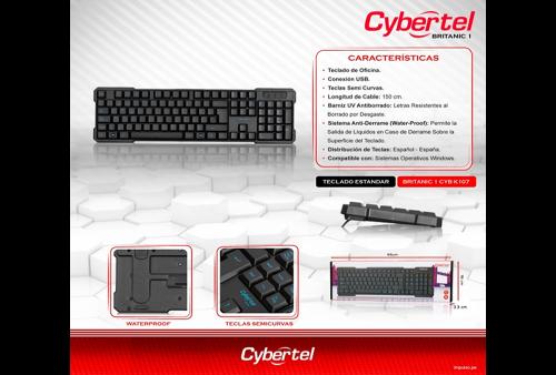 Teclado Cybertel Britanic K107