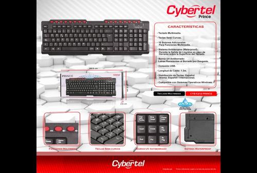 Teclado Cybertel CYB K212