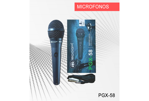 Microfono Sooom VOCAL PGX-58