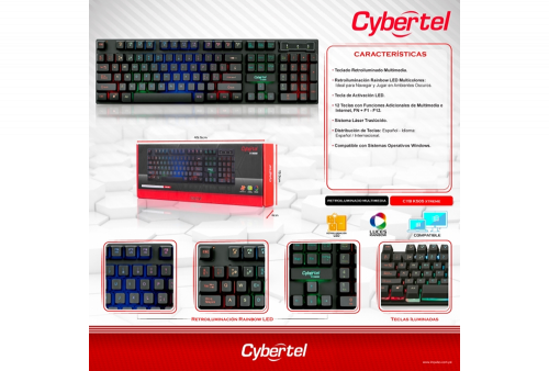 Teclado Cybertel Xtreme CYB-K505