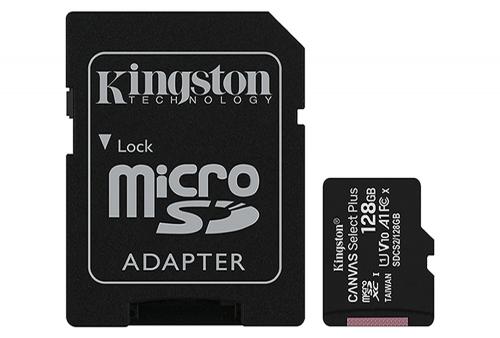 Memoria Micro SD kingston 128GB Clase 10 -100mbs