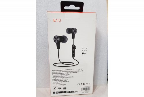 Audifono Bluetooth Tipo JBL E10
