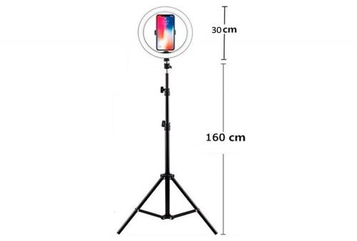 Aro de Luz de 30 cm y Tripode