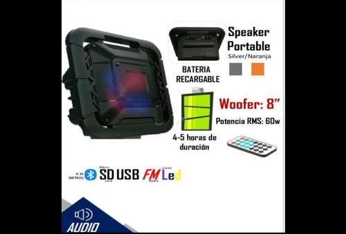 Parlante Bluetooth Wayja WA-800W  60w