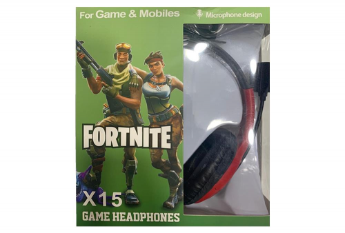 Audifonos Gamer Fortnite X15