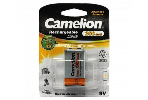 Pilas Recables Camelion 9V 250MAH NI-MH