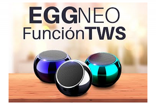 Mini Parlante Bluetooth Movisun Eggneo TWS