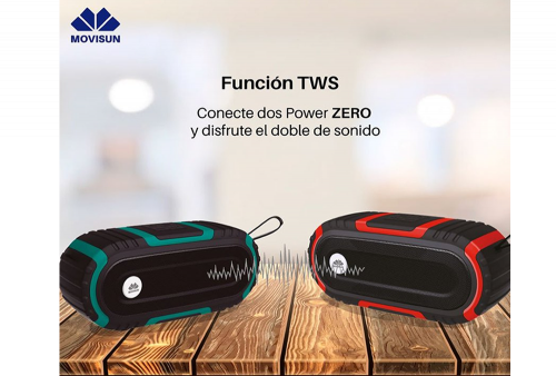Parlante Bluetooth Movisun Power Zero