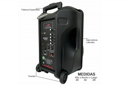 Parlante Bluetooth SoniVox VS-SS2156