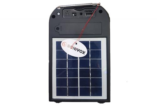 Parlante Solar Bluetooth SoniVox VS-PS1856