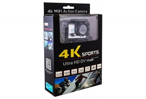 Camara Deportiva 4K Seisa Sports Utra HD DV