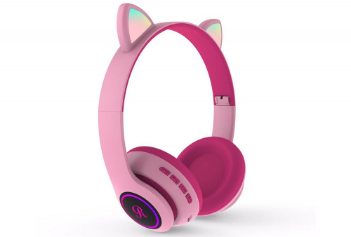Audifono Bluetooth con Diseño de Gato Cat Ear CT-66