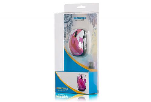 Mouse Micronics Glamour 2 MIC M707 Inalámbrico