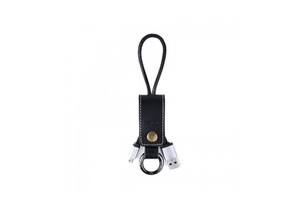 Cable Usb Remax (Llavero de Cuero)