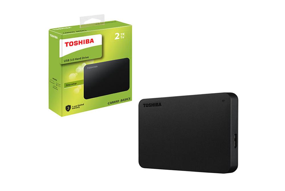 Disco Duro Portatil Toshiba  Basic 2 TB USB 3.0