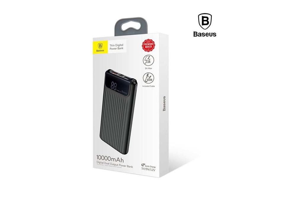 Cargador Portatil BASEUS Thin Digital 10000mAh