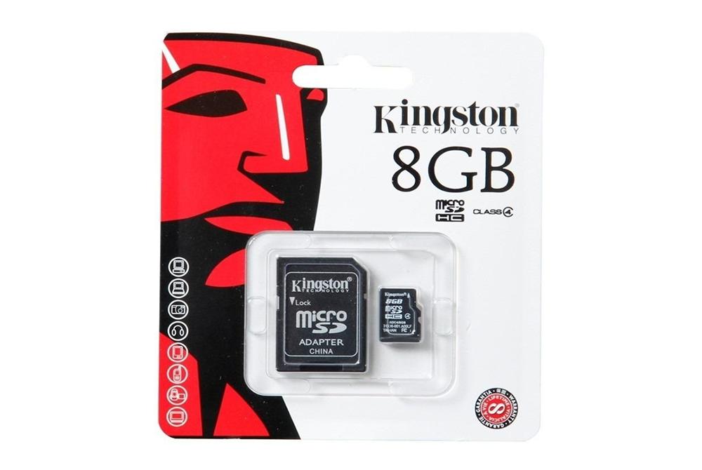 MICRO SD-HC 8GB KINGSTON