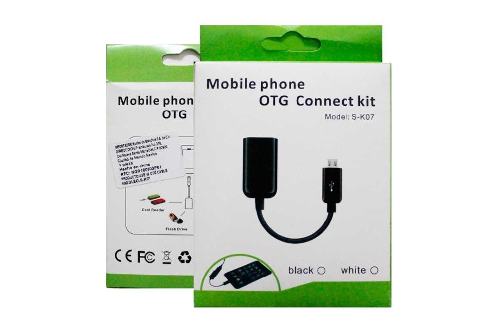 Cable OTG SK 07 Para Celular Android