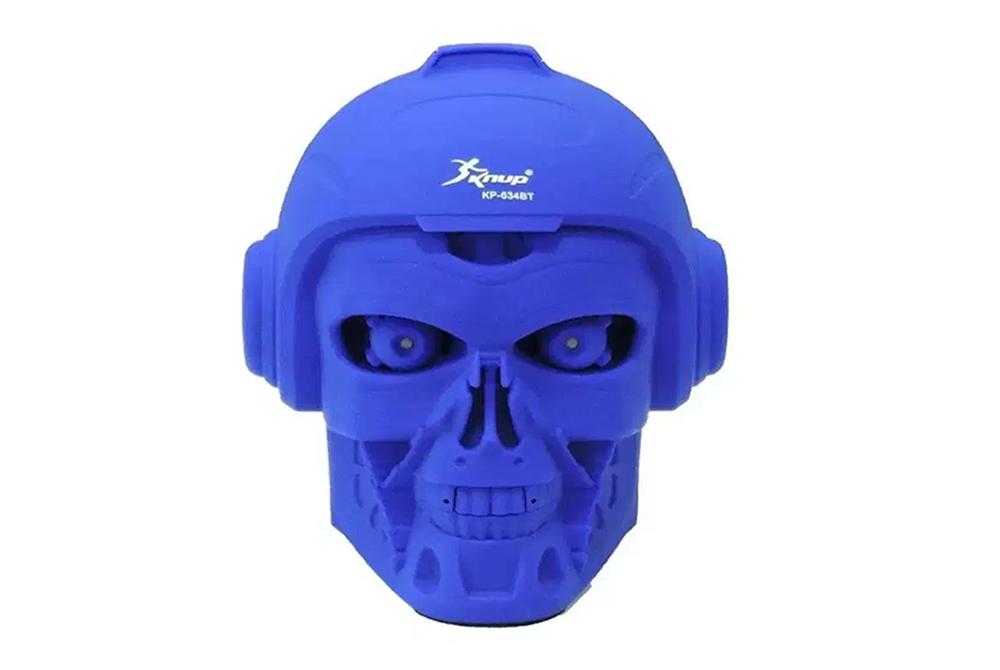 Parlante Calavera Knup Kp-634BT Bluetooth