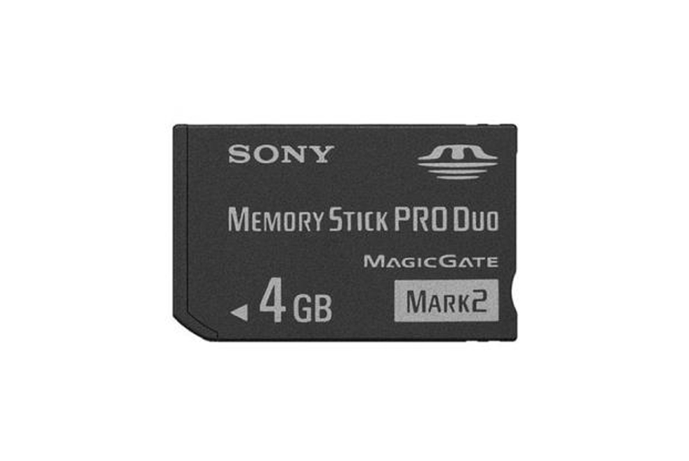 Memoria Sony  Stick Pro Duo Mark 2 de 4GB