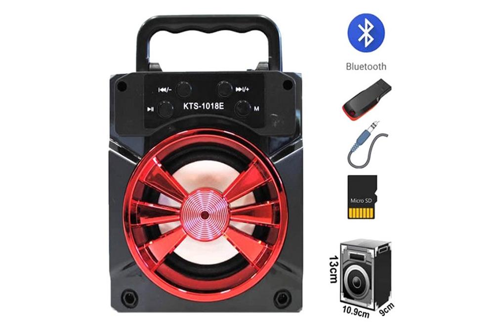 Parlante Portatil Bluetooth KTS-1018E