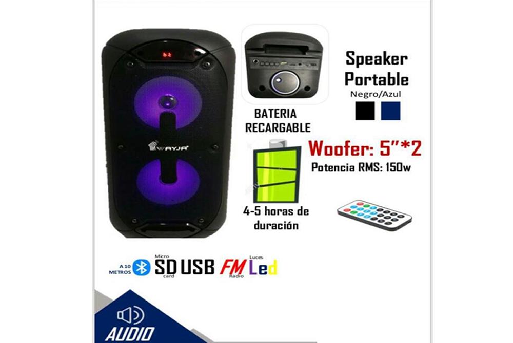 Parlante Bluetooth Wayja WA-111OW