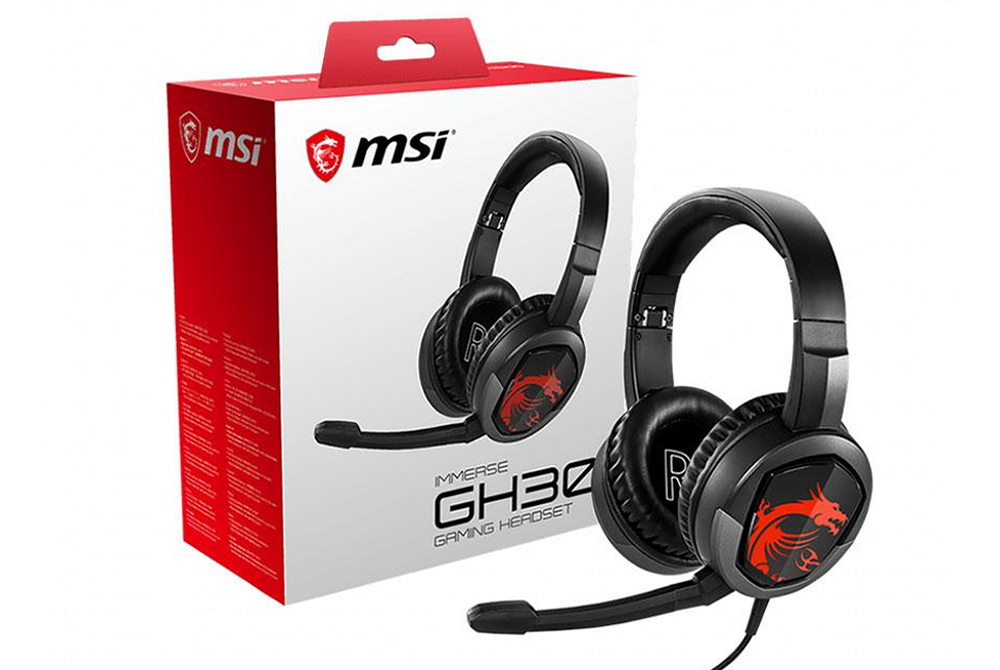 Audifono Gamer MSI Immerse GH30