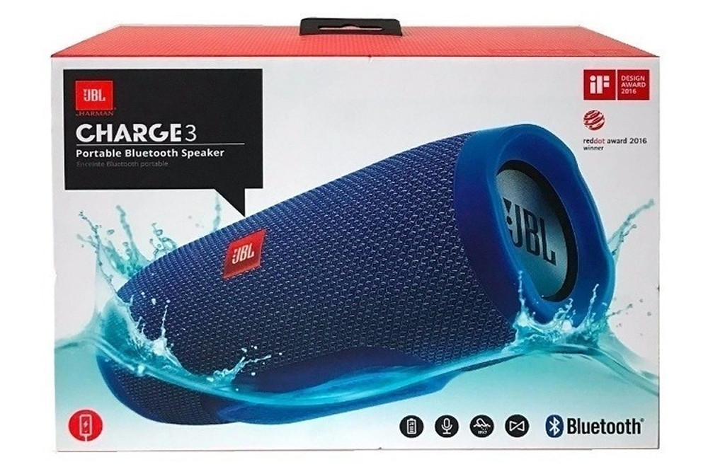 Parlante Bluetooth JBL Charge 3