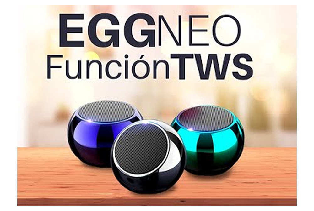 Mini Parlante Bluetooth Movisun Eggneo TWS