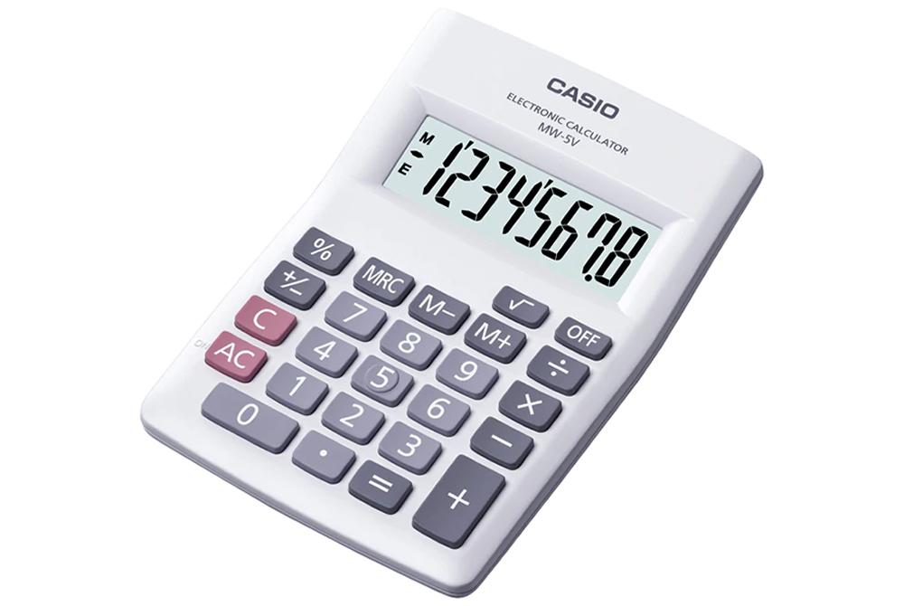 Calculadora Basica Casio MW-5V