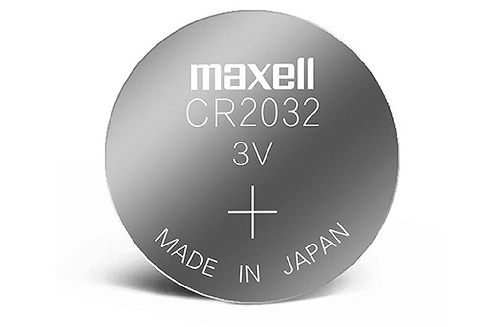 Pila Tipo Boton Maxell CR2032 3V