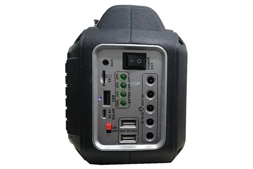 Parlante Bluetooth con Panel Solar SoniVox VS-R2248SL