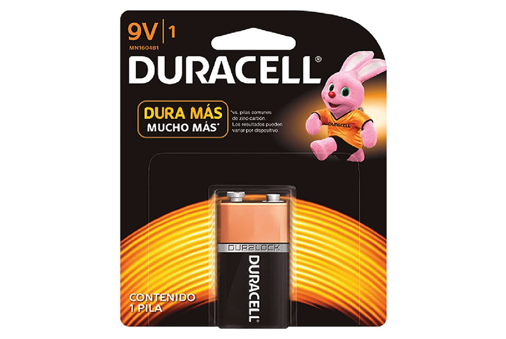 Pila Alcalina Duracell 9V Mn1604B1 Duracell