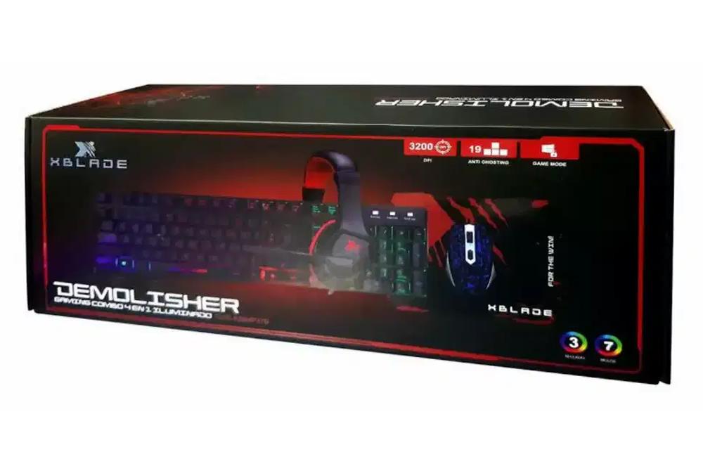 Kit Gamer Xblade Demolisher GXB-KMHP370