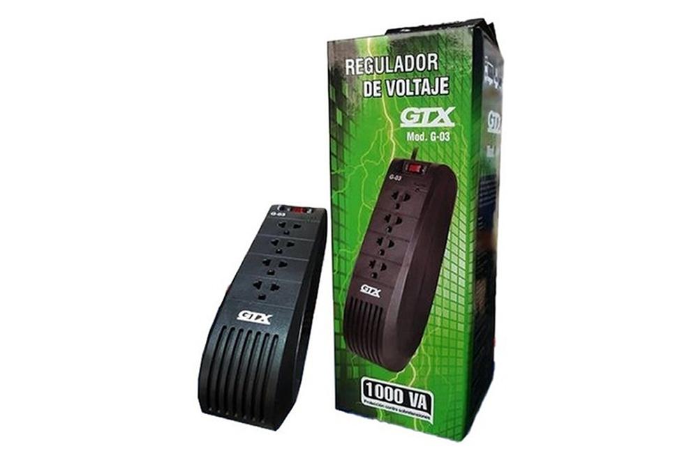 Estabilizador GTX G-03 4 Salidas 1000 Va