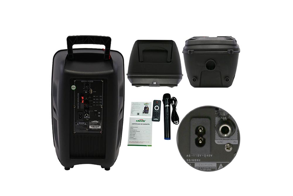 Parlante Bluetooth Cafini CN-S2752FM-BT 8 Pulgadas