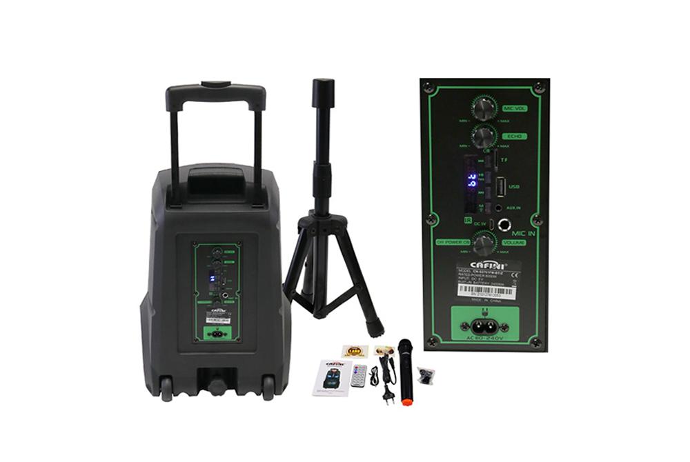 Parlante Bluetooth Cafini CN-S2761FM-BT-Z 8 Pulgadas