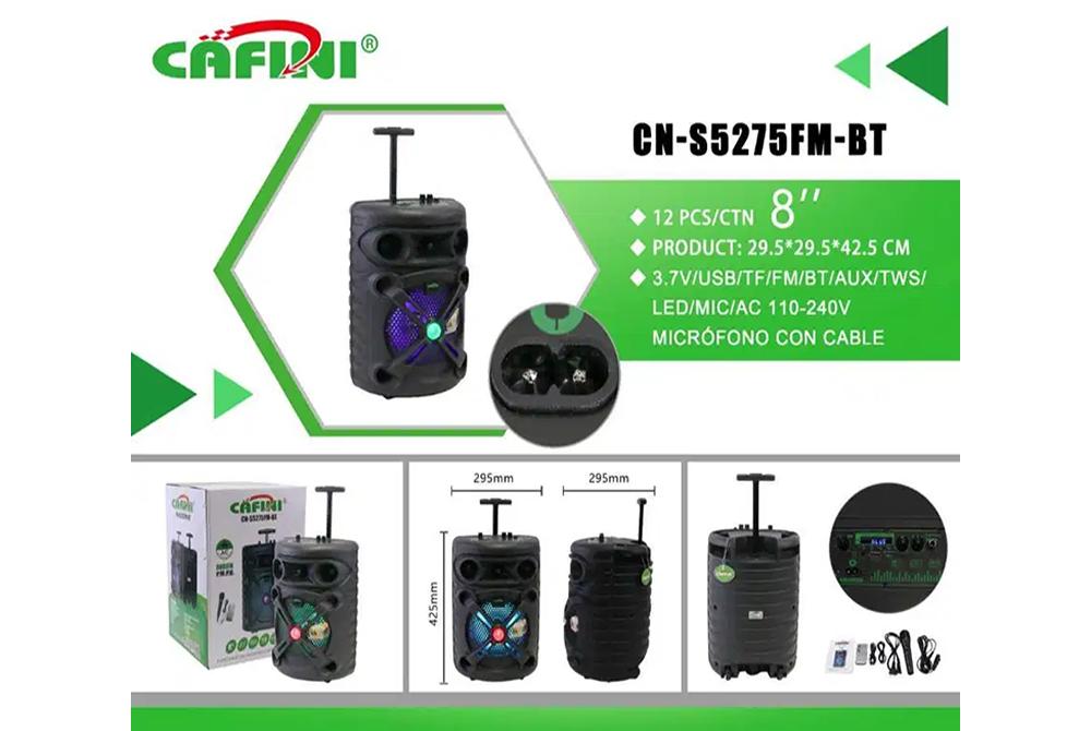 Parlante Bluetooth Cafini CN-S5275FM-BT