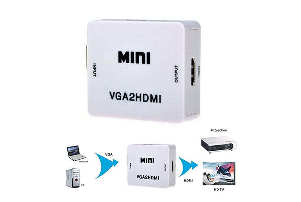 Convertidor VGA a HDMI HD Video Converter