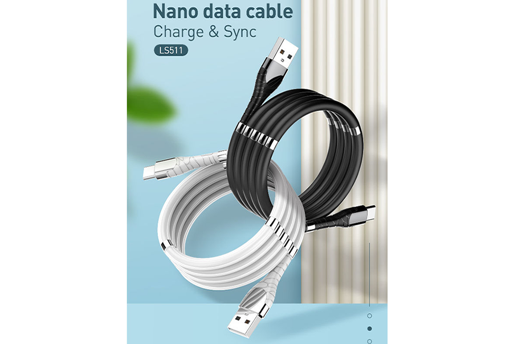 Cable Ldnio Magnetic Absorption LS511 Tipo V8