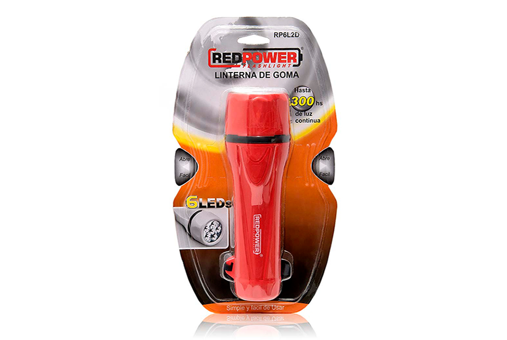 Linterna Sumergible RedPower RP6L2D