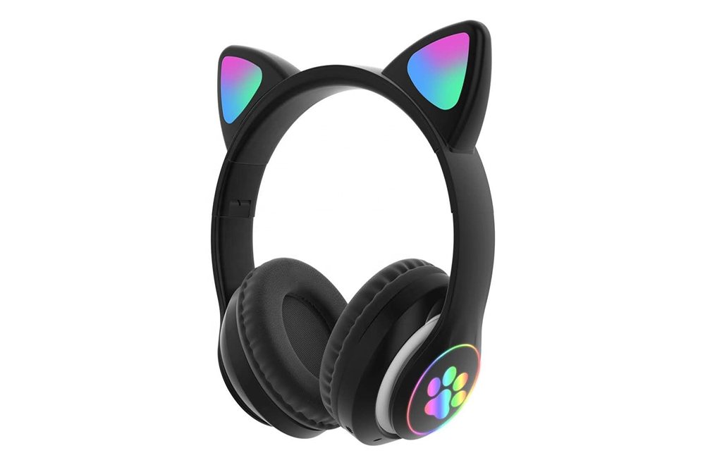 Audifono Bluetooth con Diseño de Gato Cat Ear P33M